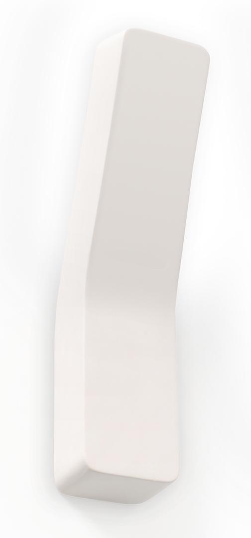 Bílá keramická nástěnná lampa COMMA SLA.0171