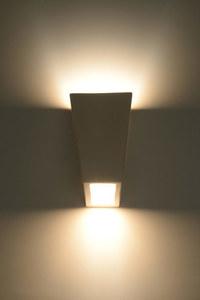 FUTURO SLA.0174 Bílá keramická nástěnná lampa small 2