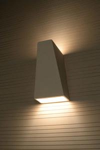FUTURO SLA.0174 Bílá keramická nástěnná lampa small 3