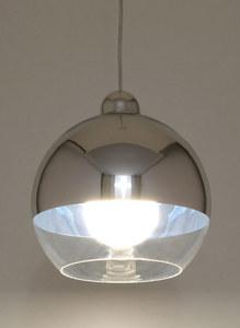 Bílá závěsná lampa COSMO Chrome SLA.0181 small 3