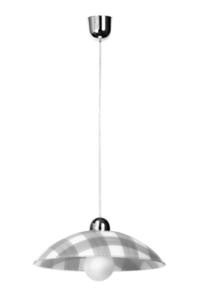 Bílá a šedá závěsná lampa TELA SLA.0184 small 4