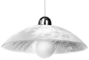Bílá závěsná lampa VENTO SLA.0187 small 0