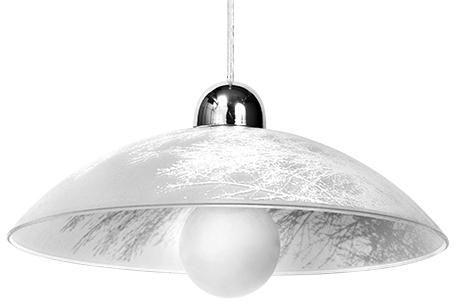Bílá závěsná lampa VENTO SLA.0187