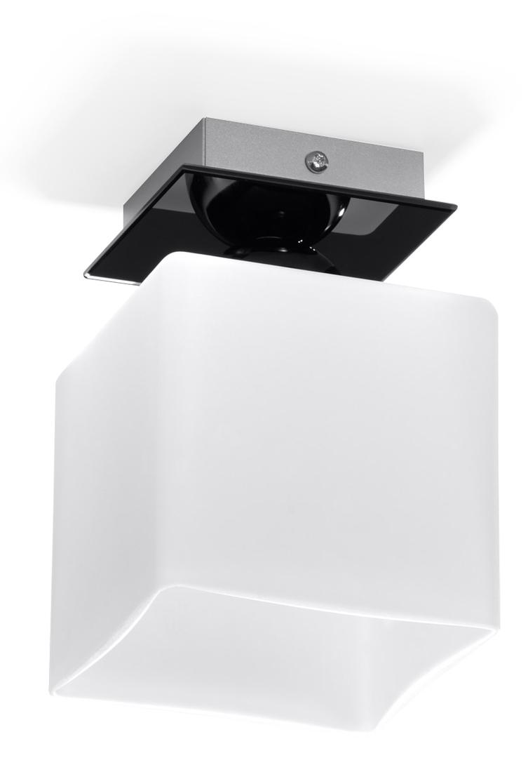 Chrom černobílý Plafond PIAZZA 1 Black SLA.0191