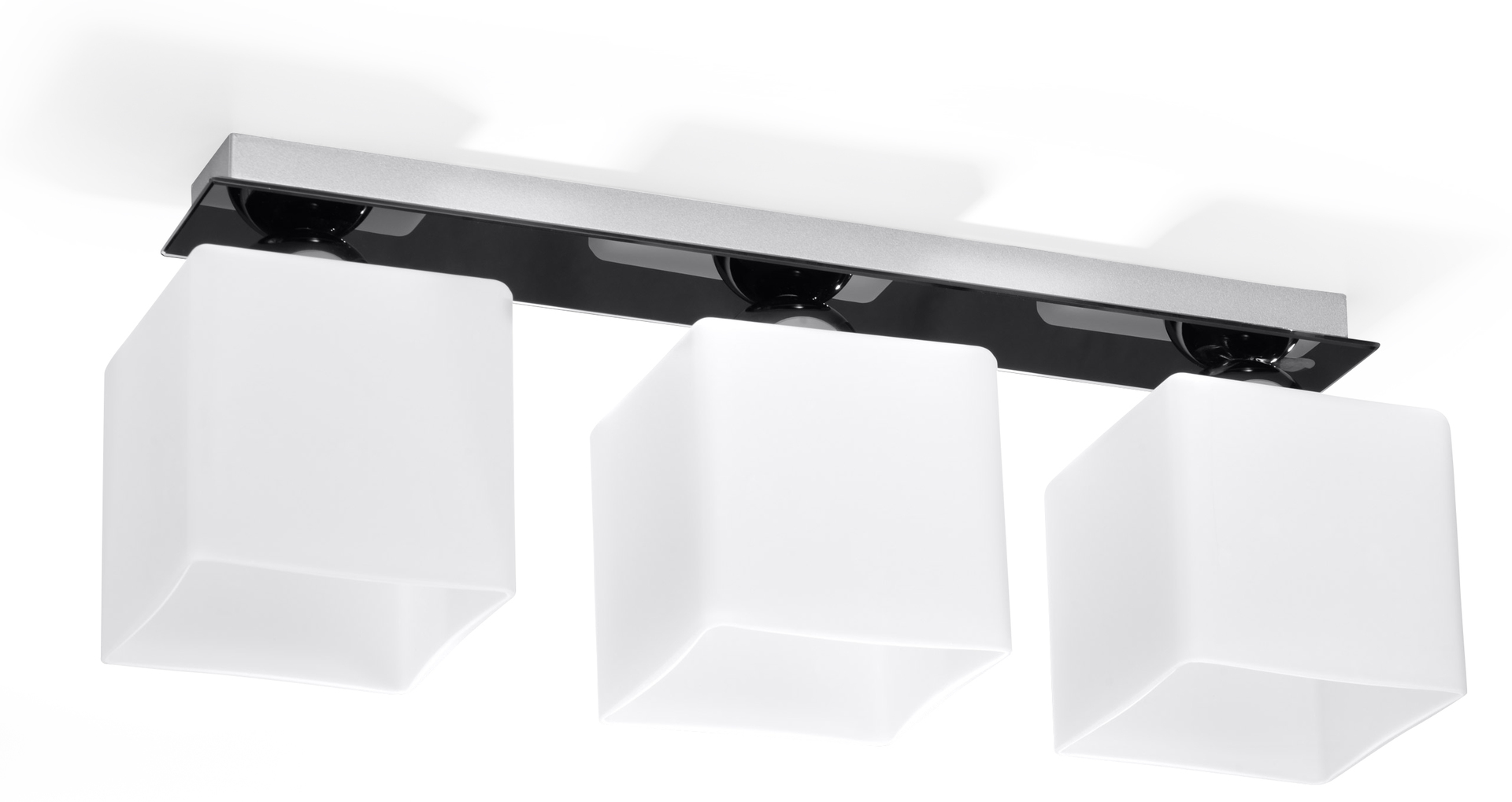 Chrom černobílý Plafond PIAZZA 3 Black SLA.0193