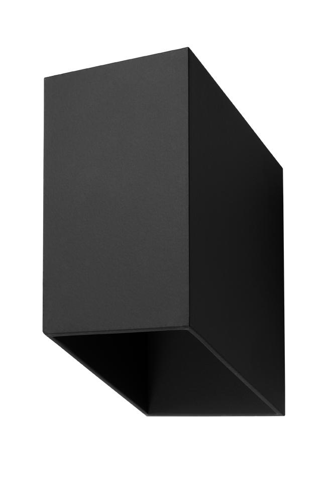 Černá nástěnná lampa TUNNEL SLA.0200