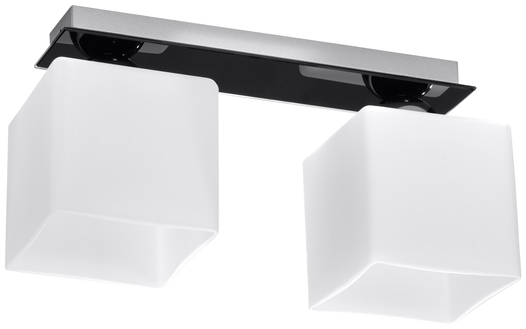 Chrom černobílý Plafond PIAZZA 2 Black SLA.0192