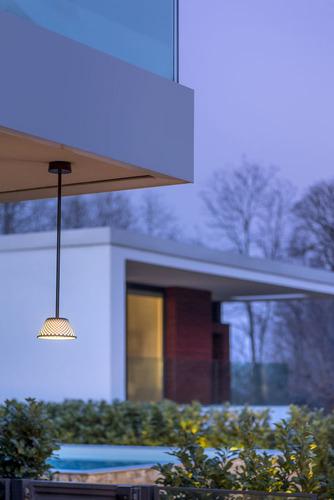 Platek Mesh downlight - venkovní lampa 48cm - 4000K