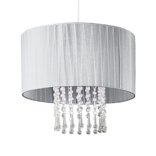 Klasická závěsná lampa Venice Grey