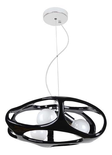 Moderní Amano černá závěsná lampa