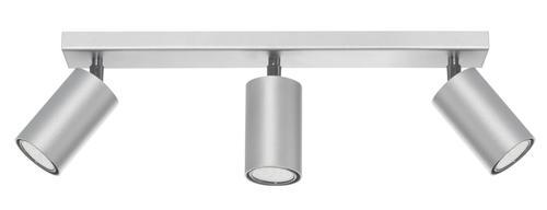 Moderní stropní lampa Rolos 3 Popiel