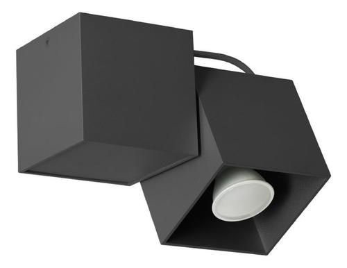 Designová stropní lampa Kraft 1 černá