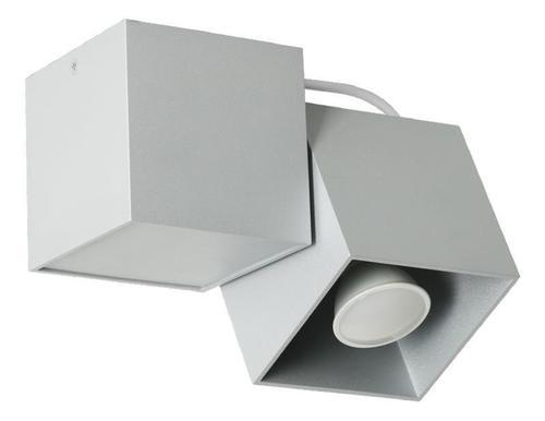 Designová stropní lampa Kraft 1 šedá