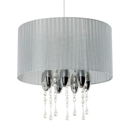 Moderní závěsná lampa Camilla Grey