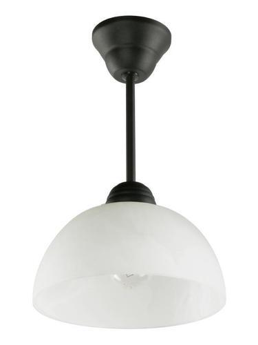 Klasická černá Zirkonová závěsná lampa