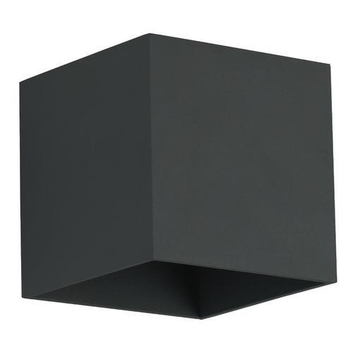 Moderní nástěnná lampa Quado Black