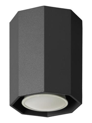 Moderní Okta 10 černá stropní lampa
