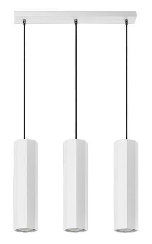 Design Astral 3 závěsná lampa bílá