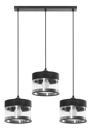 Moderní závěsná lampa Leone 3 L