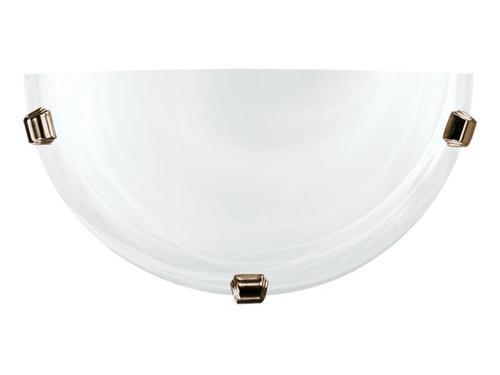 Klasická nástěnná lampa K1 Duna White Patina