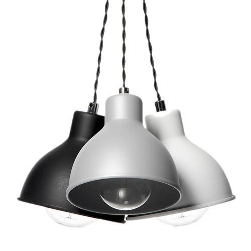 Design závěsné lampy Zoe 3 Mix Colors