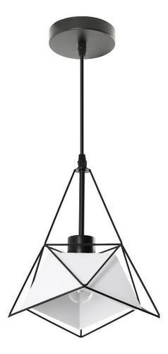 Moderní závěsná lampa Merida bílá