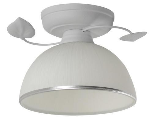 Retro stropní lampa Tanzanie bílá