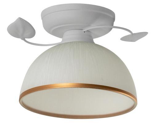 Retro stropní lampa Tanzania B bílá