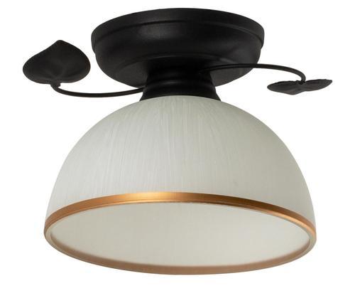 Klasická černá stropní lampa Tanzania B