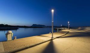 Zahradní lucerna Platek - TRIS COB LED 3000K small 0