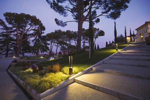 Zahradní lucerna Platek - TRIS COB LED 3000K small 7