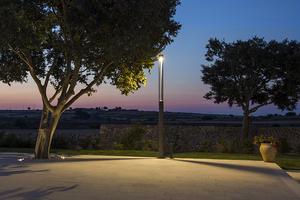 Zahradní lucerna Platek - TRIS COB LED 3000K small 2