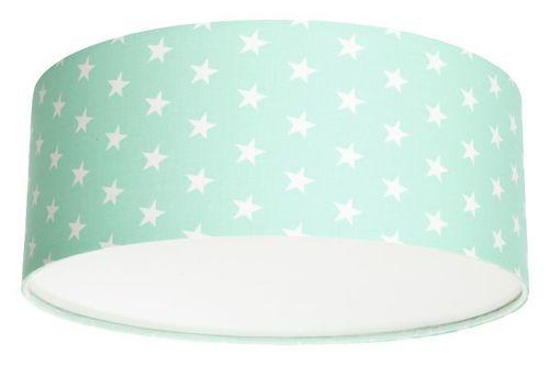 Plafond pro dívku Luminance stars E27 60W LED mincovna