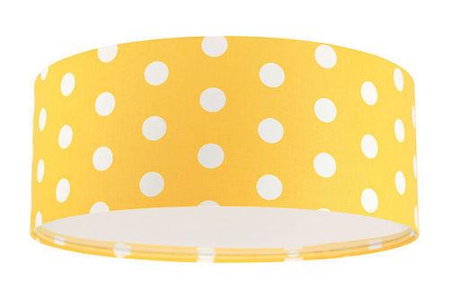 Dětská stropní lampa - Luminance E27 60W LED zlatá / bílá stropní lampa