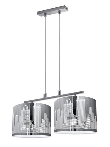 Designová závěsná lampa City 2