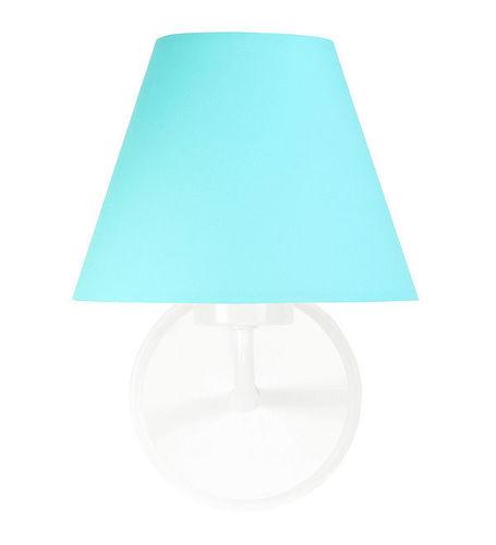 Tyrkysová nástěnná lampa Raggio E27 60W pro pokoj pro mládež