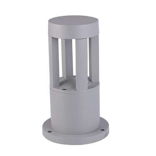 Mini zahradní lampa na větrný mlýn šedá