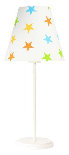 Stolní lampa Ombrello 60W E27 50cm barevné hvězdy