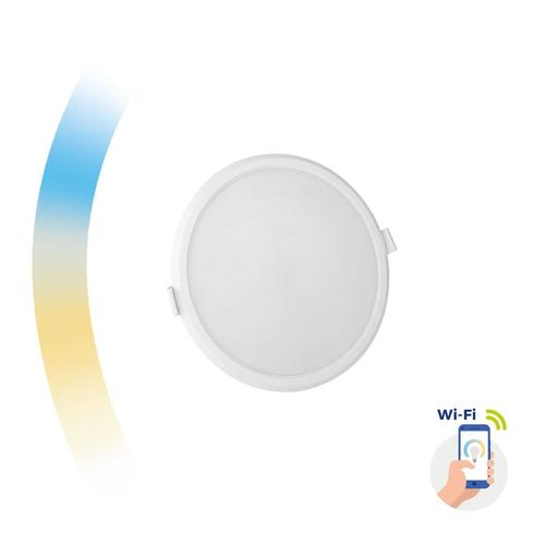 Algine 12w Cct + Dim Wi-Fi Spectrum Smart Round