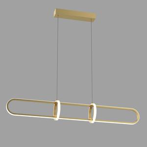 Cerrila LED zlatá závěsná lampa small 1