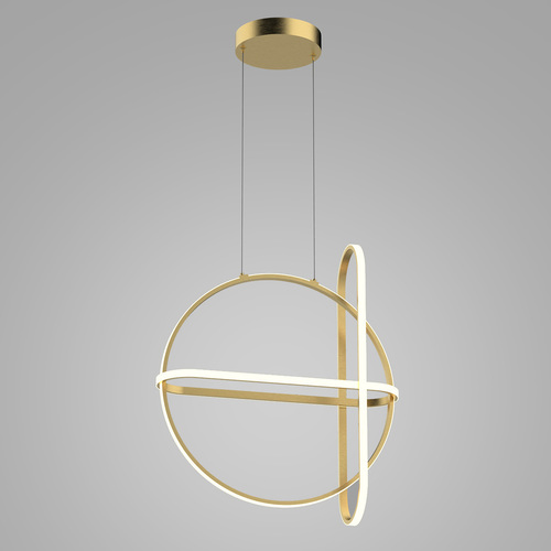 Cerrila LED zlatá závěsná lampa