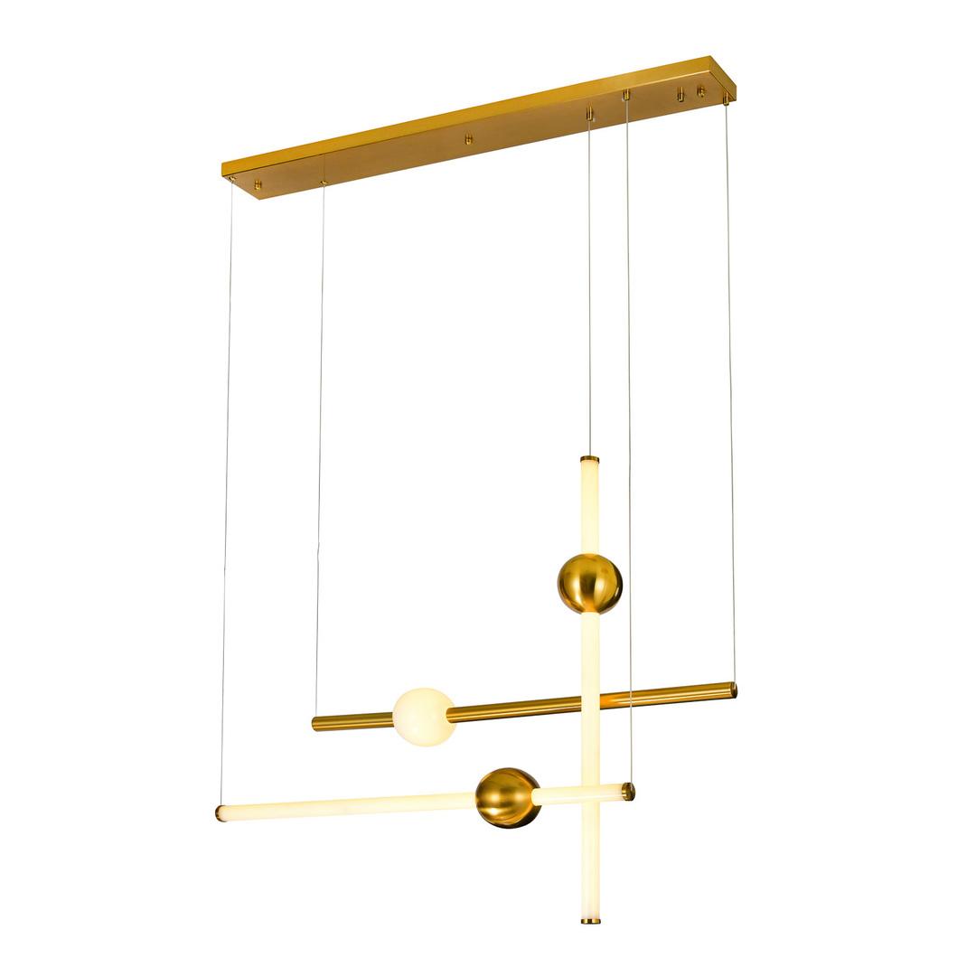 Moderní závěsná lampa LED Halling