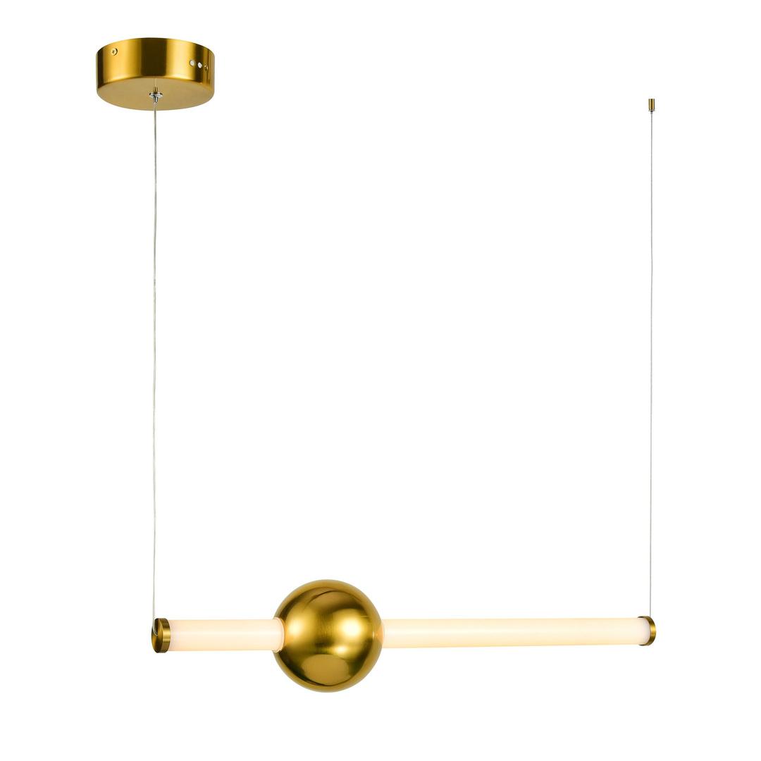 Měděná Halling LED závěsná lampa