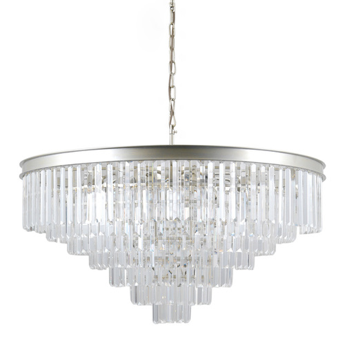 Zlatá závěsná lampa Verdes E14 14 žárovka