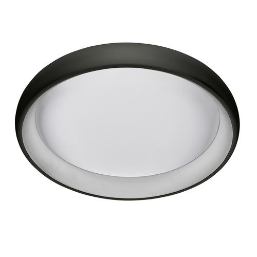 Černá závěsná lampa Alessia LED