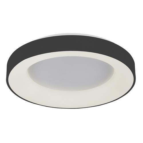 Černé moderní stropní svítidlo Giulia LED