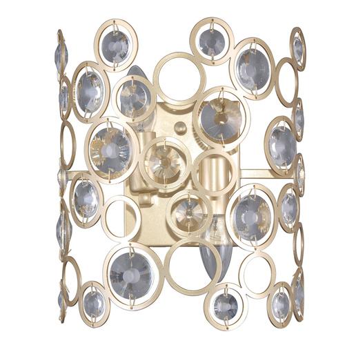 Moderní zlatá nástěnná lampa Nardo E14 2 žárovky