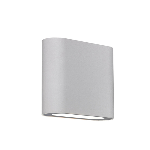 Moderní bílá nástěnná lampa Ricky LED IP44