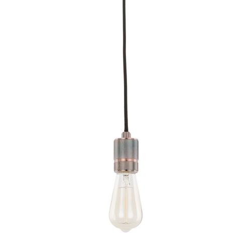 Červená závěsná lampa Casa E27