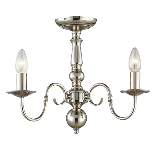 Stylizovaný lustr Marion E14 se třemi žárovkami